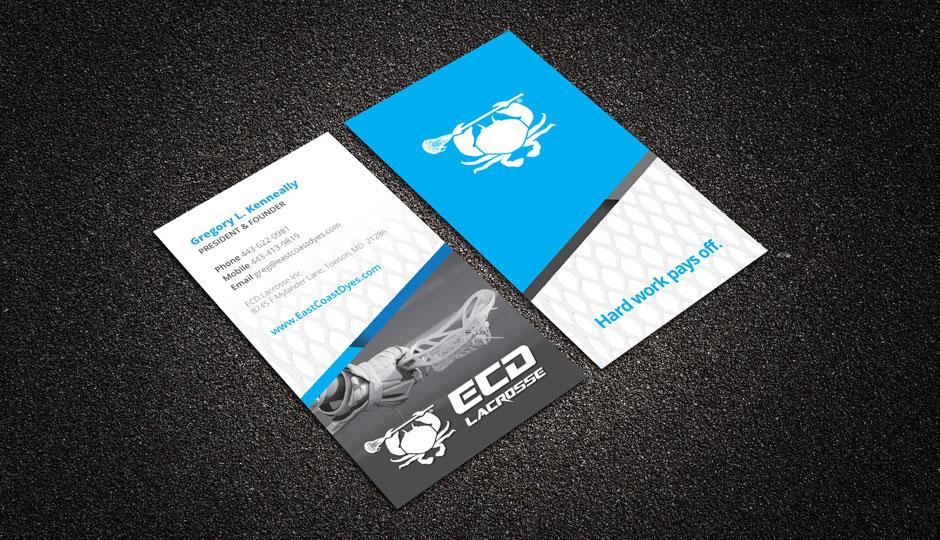 ECD Lacrosse business cards