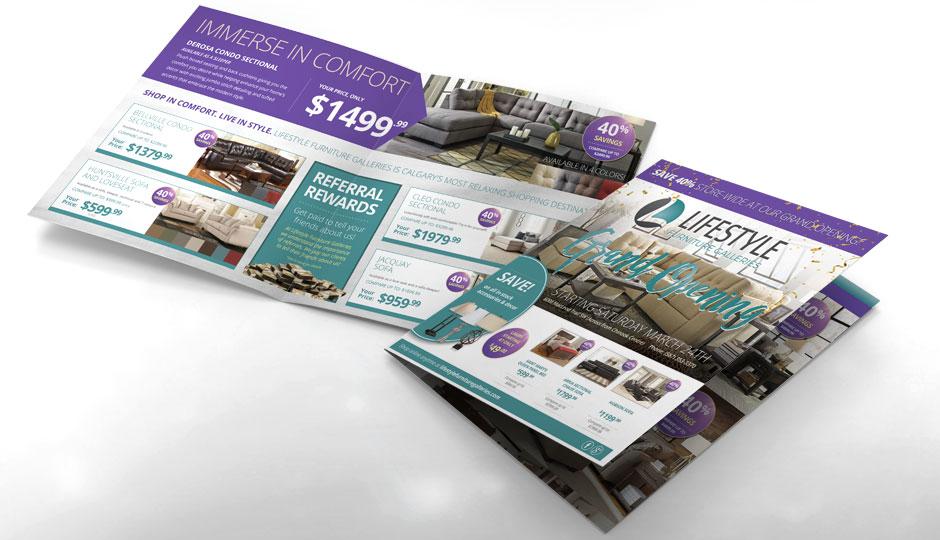 Lifestyle Furniture Galleries brochures